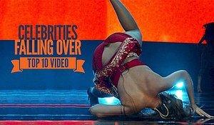 Watch Celebrities Falling Over: Top 10 Fail Videos