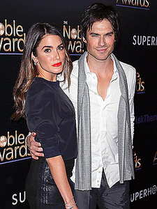 Nikki Reed and Ian Somerhalder: The Only Thing We Argue About Is the Color of His Eyes