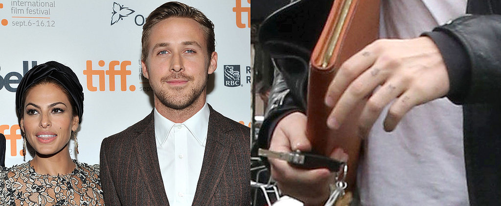 Hold Up — Did Ryan Gosling Get a Tattoo of His Daughter's Name?