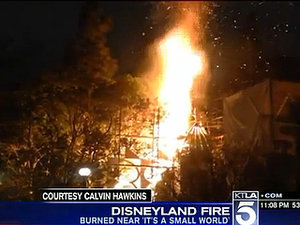 Fire Breaks Out Near 'It's a Small World' Ride in Disneyland