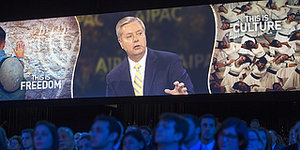 Lindsey Graham Promises AIPAC Members He Will Cut UN Funding and Derail Iran Negotiations