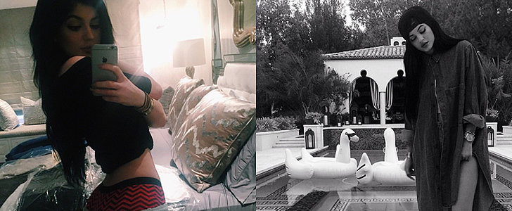 What Kylie Jenner's Selfies Say About Her Home Life