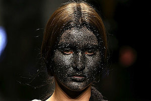 How About No: Models In 'Glittery Blackface' At Milan Fashion Week
