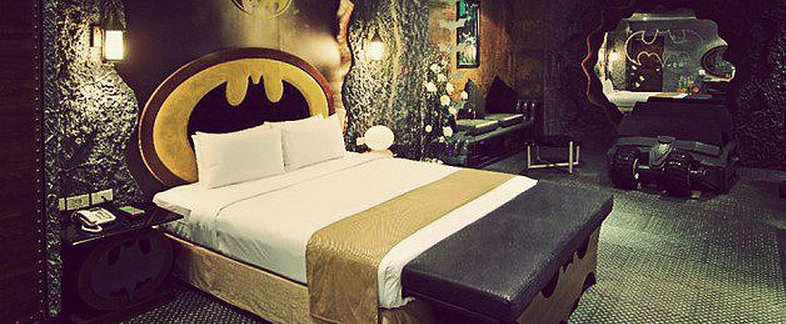 This Batman-Themed Suite Is Your Dream Come True