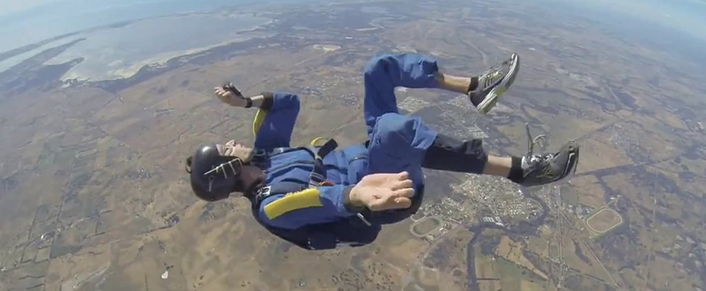 This Intense Skydive Video Will Give You the Chills