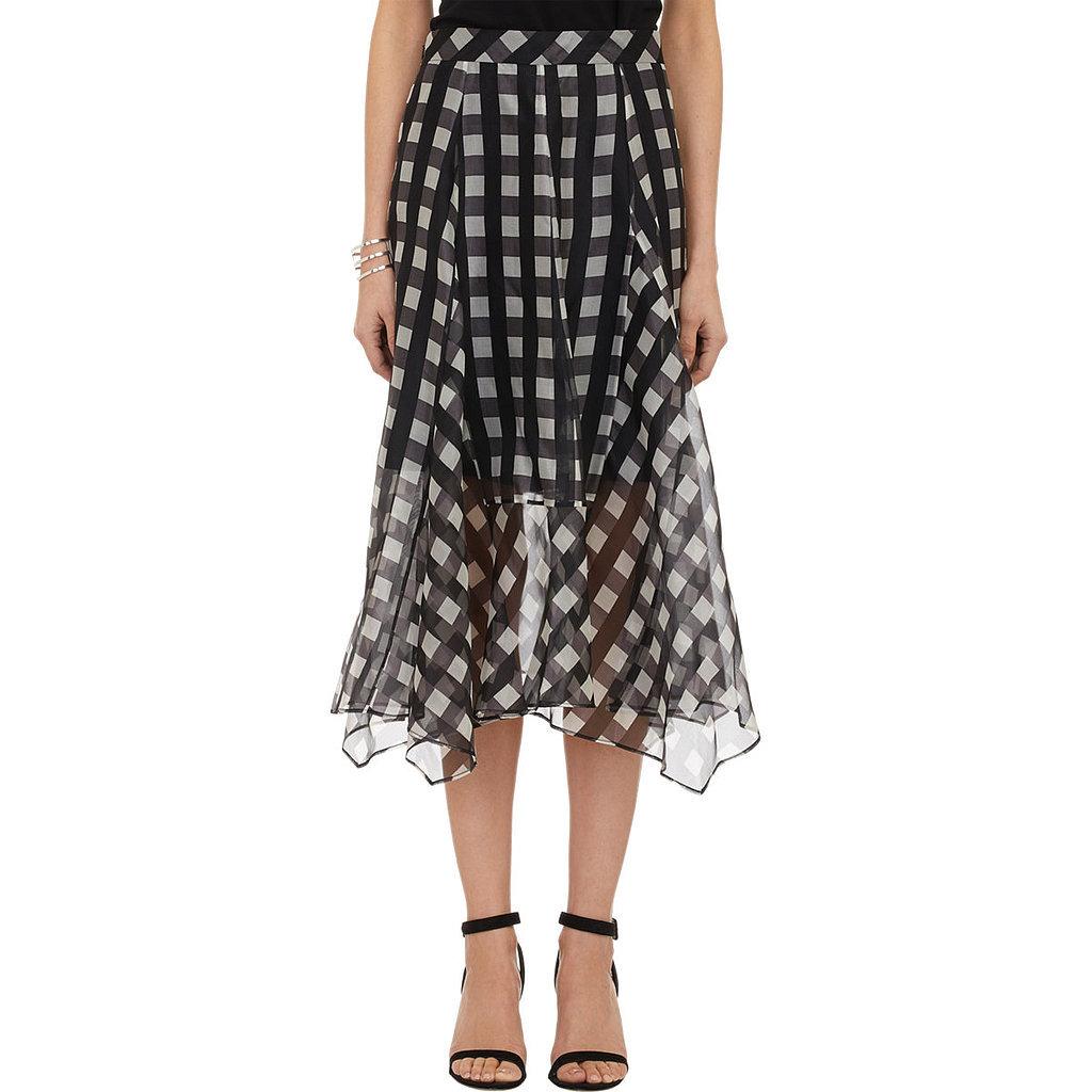 Marissa Webb Gingham Skirt