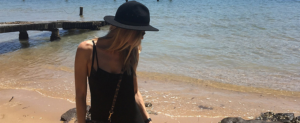Lingerie Shoots, Puppy Cuddles — Just Another Regular Day For Jennifer Hawkins!