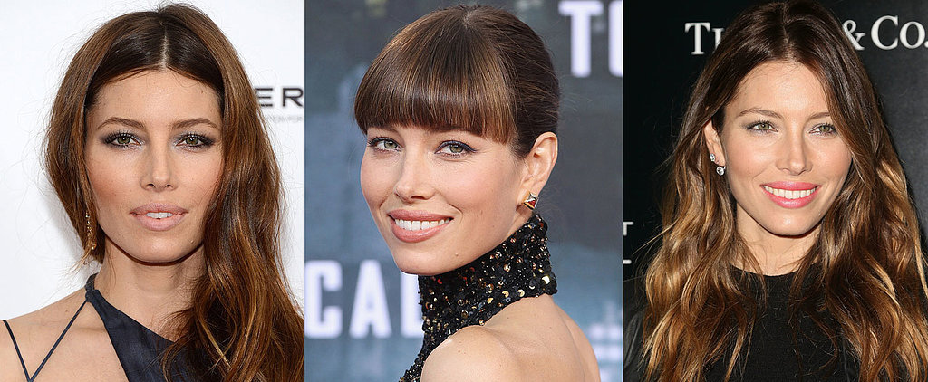 See Jessica Biel's Hair Colour Changes Over the Years