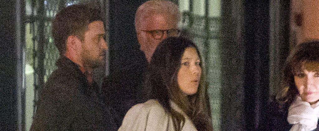 Justin Timberlake and Jessica Biel Have an Early Birthday Celebration With Friends