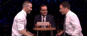 Ryan Reynolds Goes Head to Head With Jimmy Fallon in Egg Russian Roulette