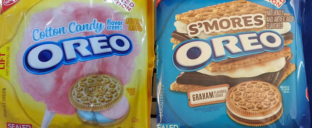Nabisco Confirms That Oreo Cotton Candy and S'mores Flavors Are Real