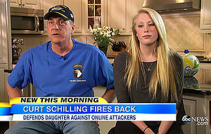 "Curt Schilling and His Teenage Daughter Gabby Speak Out After Exposing Cyberbullies: ""I'll Never Not Protect Her"""