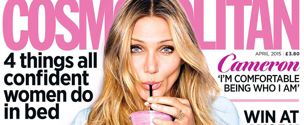 Sex and Cake: Just Part of Cameron Diaz's Healthy Routine