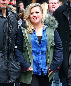 Kelly Clarkson promotes new album in New York