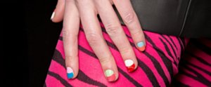 The Latest Nail Art Trends: Colorblocked, Dip Dyed, and Doodled