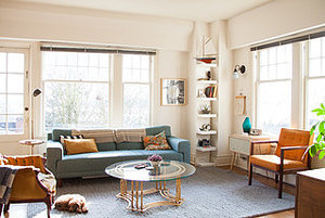 My Houzz: Thoughtful, Eclectic Style for a Sunny Seattle Apartment (14 photos)