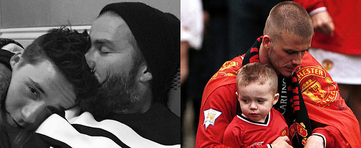 "David Beckham Shares the Sweetest Birthday Message For His ""Big Boy"" Brooklyn"