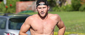 Scott Eastwood Works Out in Jeans and Only Jeans, Because He Can