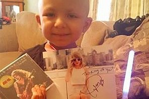 Taylor Swift Helped A 4-Year-Old Cancer Patient Complete Her Bucket List