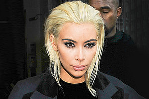12 Times We've Had to Keep Up With Kim Kardashian's Hair in 2015