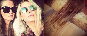 Jessica Simpson Debuts Ombré Strands on Instagram