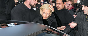 What — You Thought Kim Kardashian Would Go to PFW in the Same Old Look?