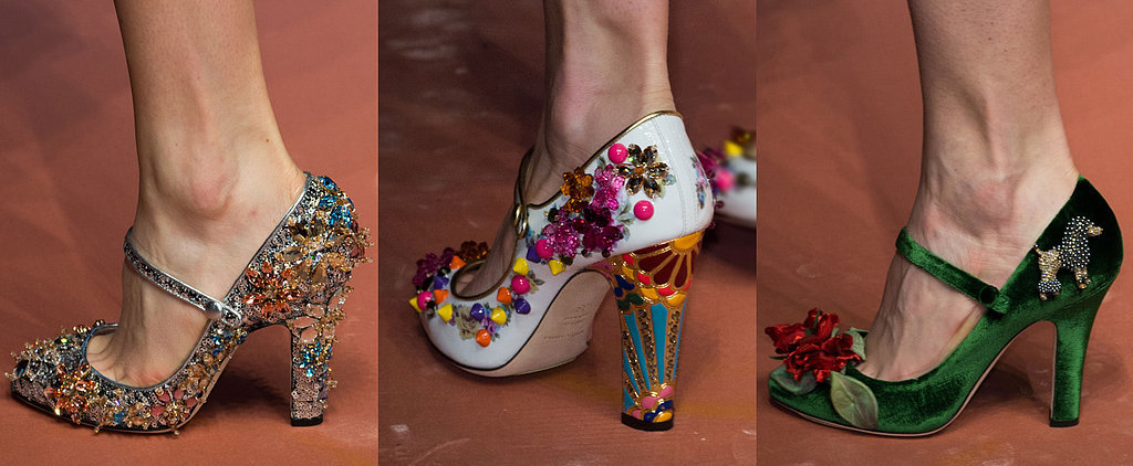 These Fashion Week Shoes Are More Like Works of Art