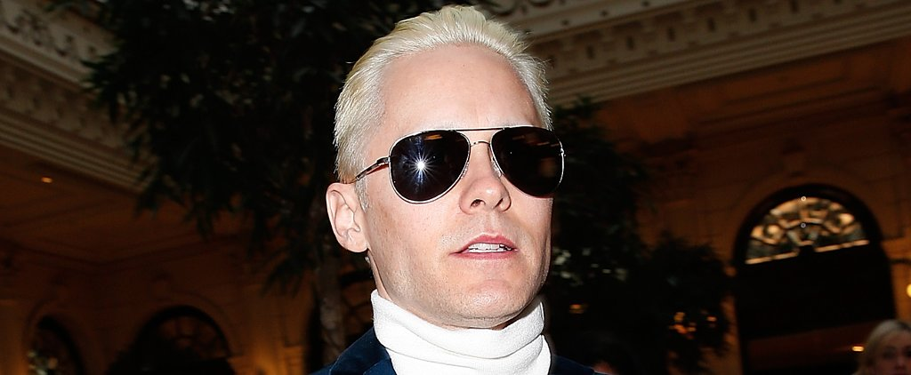 Ah! Now Jared Leto Has a Bleach-Blond Makeover