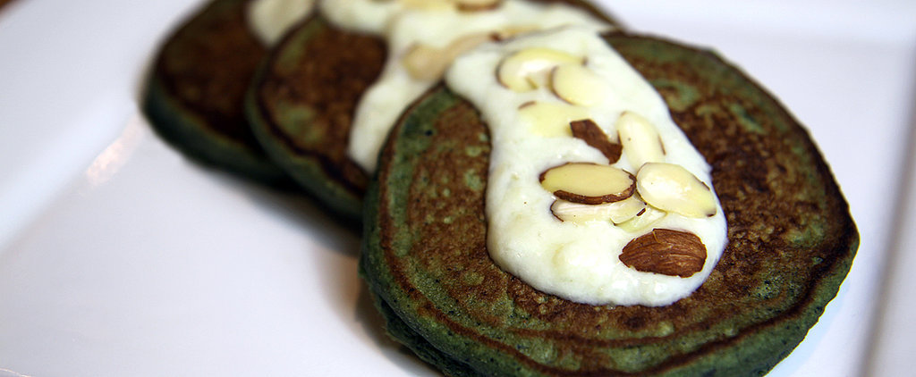 Smoothie-Inspired 100-Calorie Pancakes