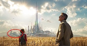 Yes, That's Space Mountain in the New Poster for 'Tomorrowland'