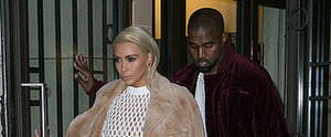 Kim's Taking Over Paris Fashion Week One Shocking Look at a Time