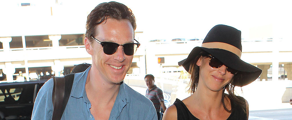 Benedict Cumberbatch Looks Happier Than Ever After His Honeymoon