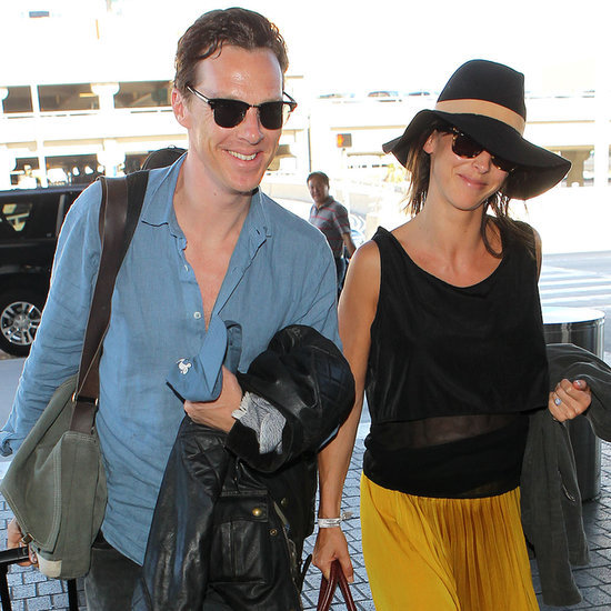 Benedict Cumberbatch and Sophie Hunter After Their Honeymoon