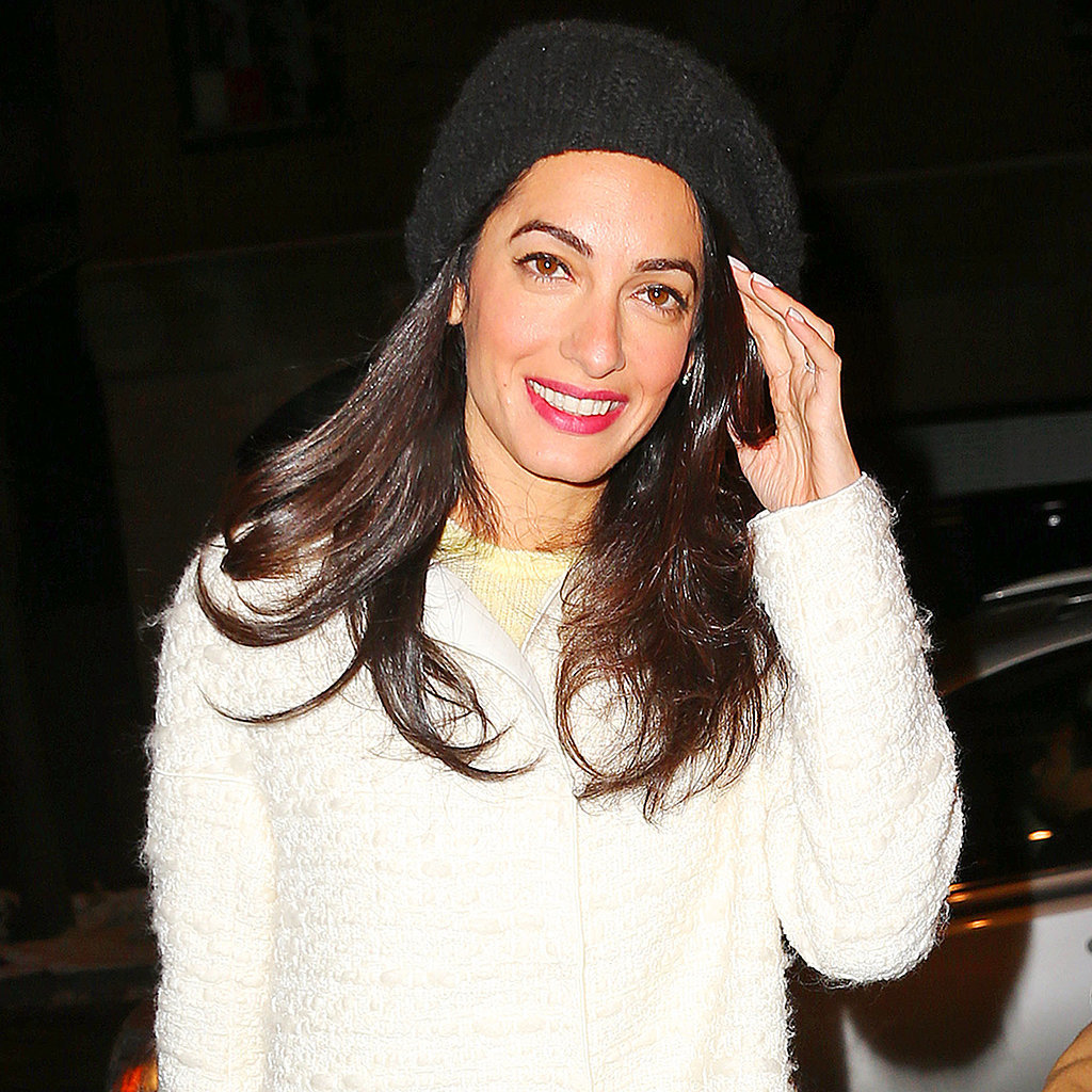Anne Hathaway Graham Norton: Amal Alamuddin In NYC After Columbia News