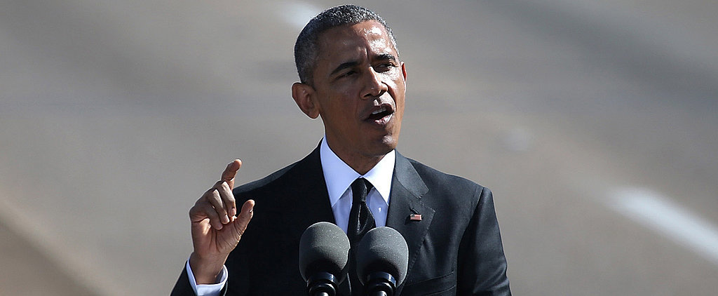 Watch President Barack Obama's Moving Selma Speech