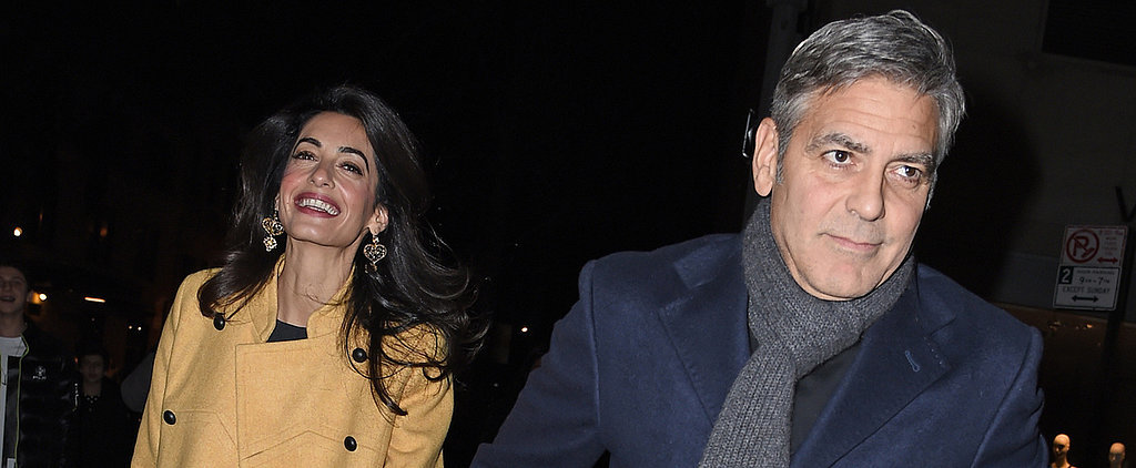 George and Amal Clooney's Romantic Night Out Couldn't Be Cuter