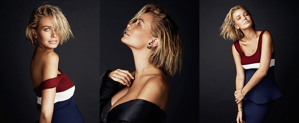 Lara Bingle Worthington Flaunts Her Baby Bump in a Stunning New Shoot