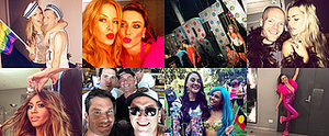 Check Out the Colourful, Glitter-Filled Mardi Gras Candids From the Stars