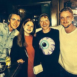 Tom Felton Posts Harry Potter Reunion Picture