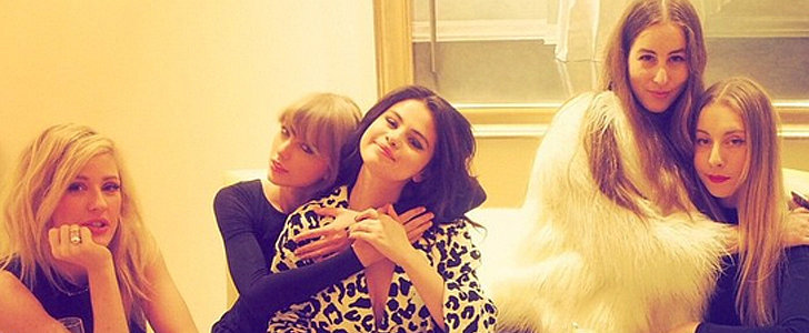 Taylor Swift and Selena Gomez's Tea Party Looks Straight Out of a Magazine
