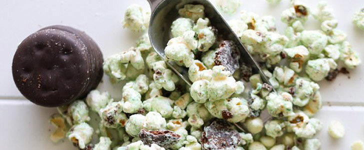 White Chocolate Thin Mints Popcorn: The Perfect St. Paddy's Day Snack!