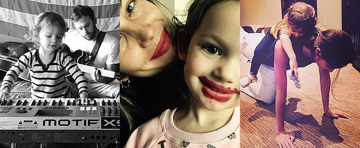 Lily Aldridge and Her Little Girl Are Way Too Cute For Words