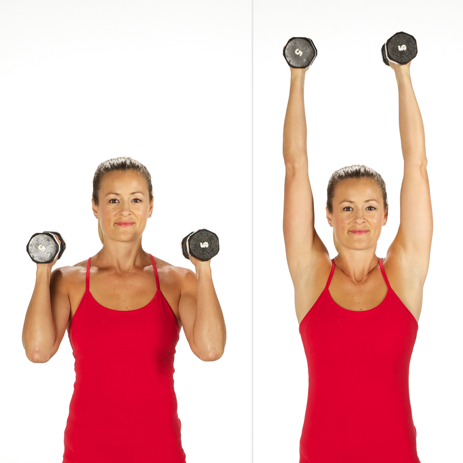 Overhead Shoulder Press | Sculpt and Strengthen Your Arms ... Dumbbell Overhead Press