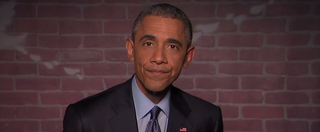 "President Barack Obama Brings On the Sass in a Round of ""Mean Tweets"""