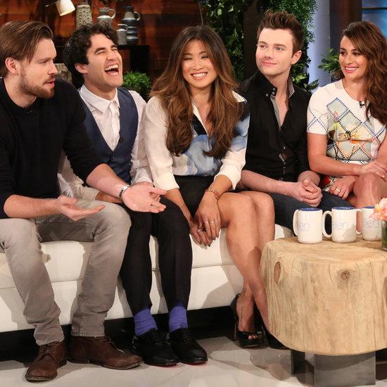 Glee Cast Interview With Ellen DeGeneres About the Finale