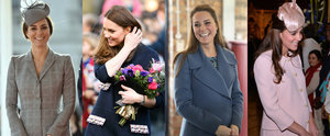 All of the Duchess of Cambridge's Pregnant Outings, All in One Place