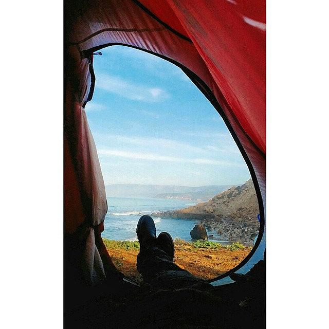 Pitch a Backyard Tent