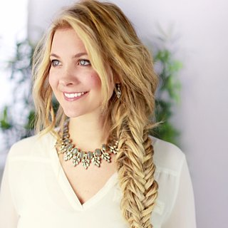 This Boxed Fishtail Plait Is Perfect For the Nautical Bride