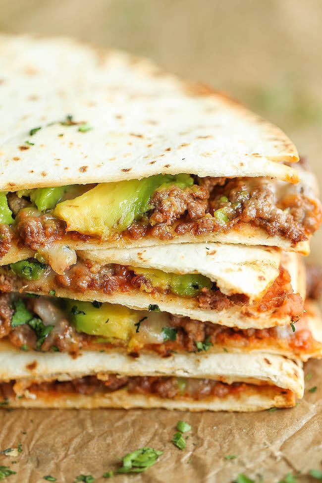 Cheesy Avocado Quesadilla