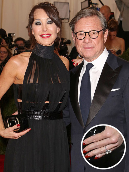 Designer Tamara Mellon Engaged to Michael Ovitz: See Her Gorgeous Ring!